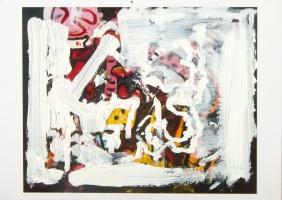 Sepents's Breath, Oil on Canvas, 1966, Alan Davis (1920-2014)